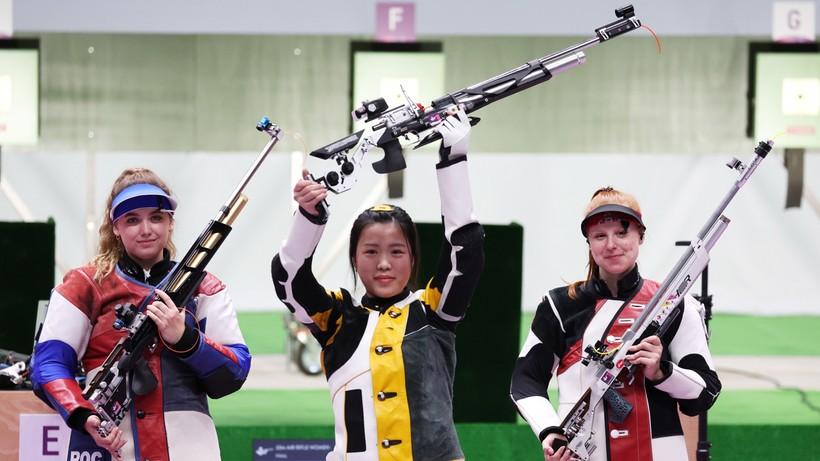 Tokio 2020: Qian Yang pierwszą złotą medalistką igrzysk