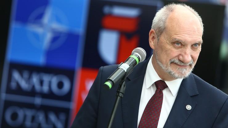 Macierewicz: bezpieczeństwo NATO jest całościowe, nie można skupiać się tylko na Wschodzie