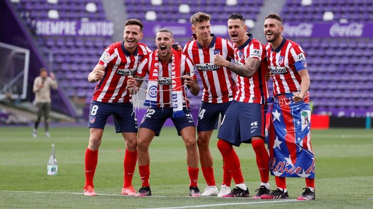 La Liga: Atletico Madryt mistrzem Hiszpanii