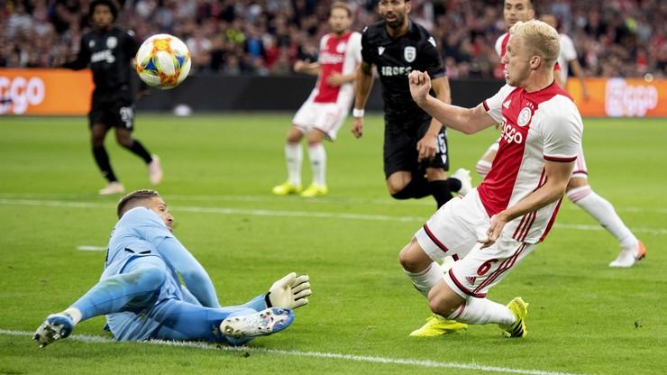 Liga Mistrzów: Ajax Amsterdam wymęczył awans do ostatniej rundy