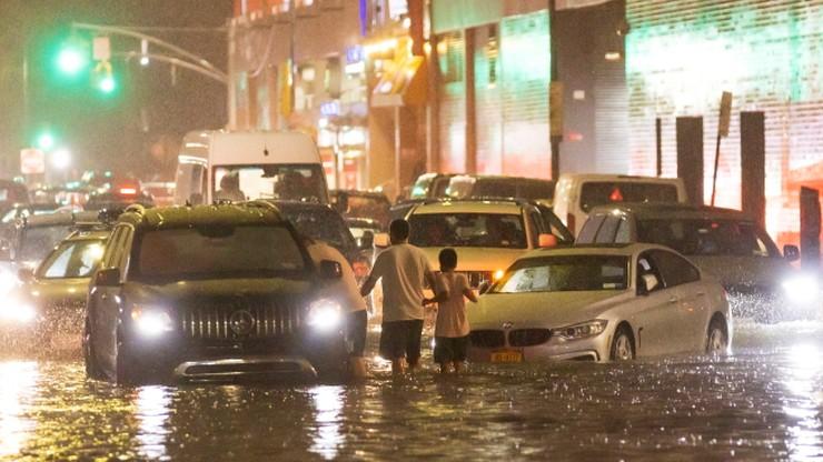 Powódź w Nowym Jorku. Są ofiary