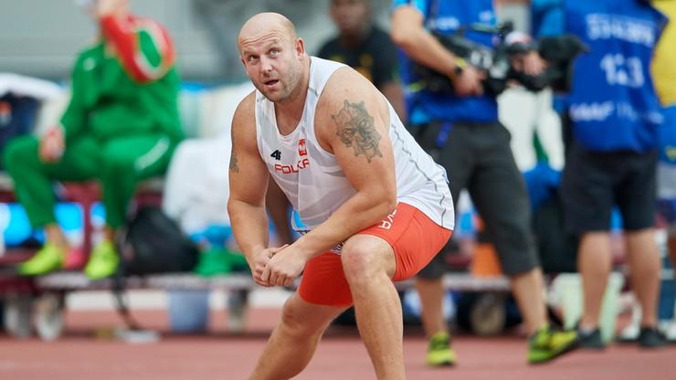 Piotr Małachowski rzucił dyskiem 63,77 w Oleśnicy. To jego najlepszy tegoroczny wynik