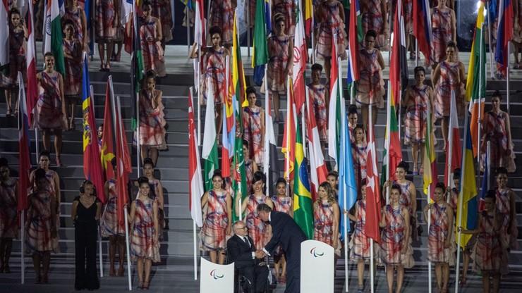 Białoruski paraolimpijczyk usunięty z igrzysk. Rozwinął rosyjską flagę na ceremonii otwarcia