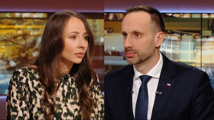 """Posłanka Lewicy kontra wiceminister. Spór w """"Polityce na Ostro"""""""