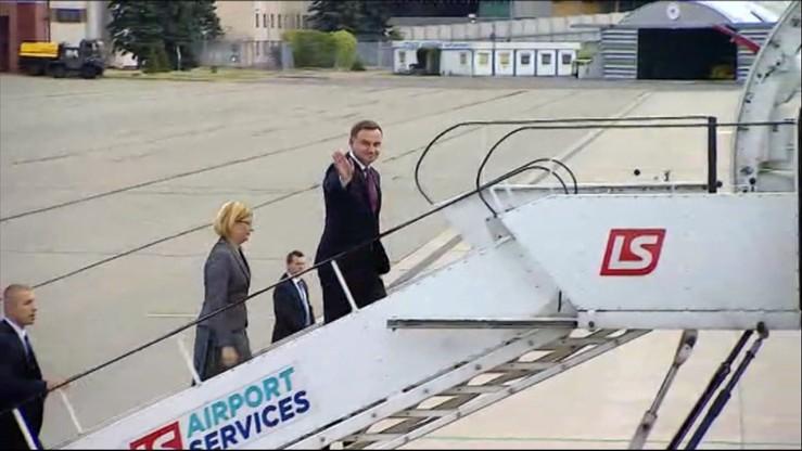 Prezydent Duda udaje się z wizytą do Kanady