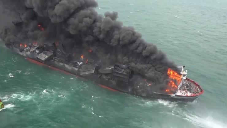 """Sri Lanka. Tonie kontenerowiec z chemikaliami. """"Rufa statku jest pod wodą"""""""