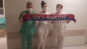 Piłkarze Rakowa wsparli szpital w Częstochowie
