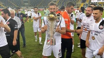 Szalony mecz o awans do ligi tureckiej. Artur Sobiech świętuje