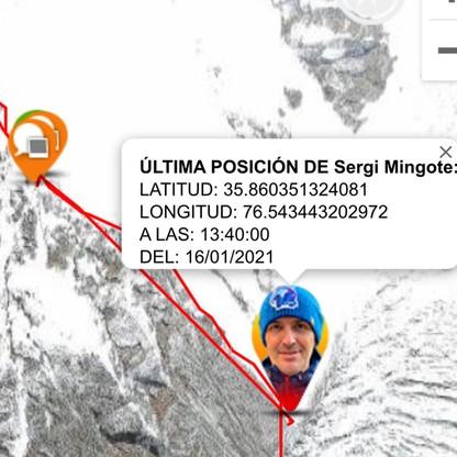 GPS Hiszpana wskazuje, że spadł z dużej wysokości