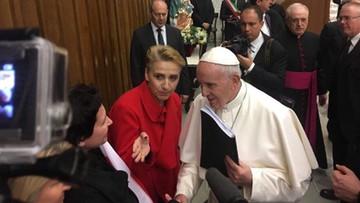 """Twórcy """"mapy kościelnej pedofilii w Polsce"""" spotkali się z papieżem. """"Wręczyliśmy nasz raport"""""""
