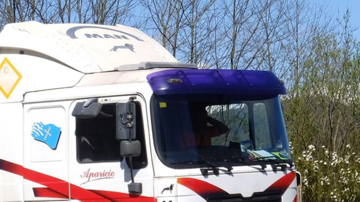 Ciężarówki bez kierowców przejechały przez Europę