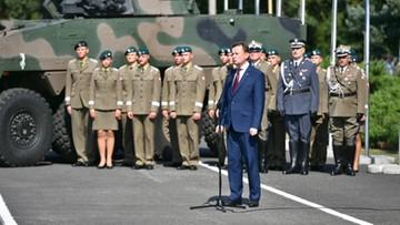 Błaszczak: wojsko polskie musi być liczniejsze