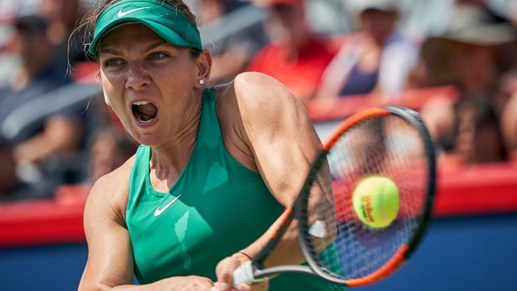 WTA w Montrealu: Halep awansowała do półfinału