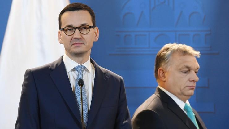 """""""Jeszcze Polska nie zginęła, póki my żyjemy"""". Orban podsumował spotkanie z Morawieckim"""
