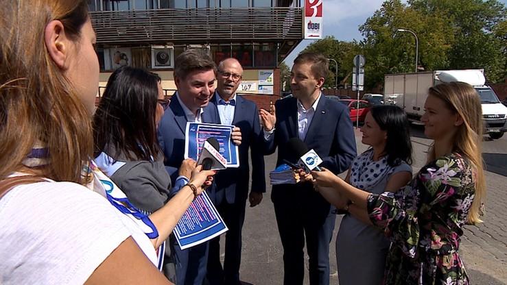 Politycy PO i PiS spierają się o program na wybory samorządowe
