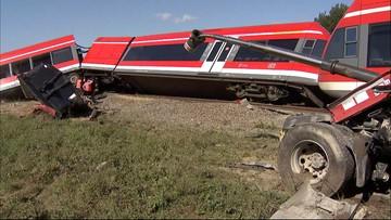 Tir uderzył w pociąg. Ewakuowano 35 osób