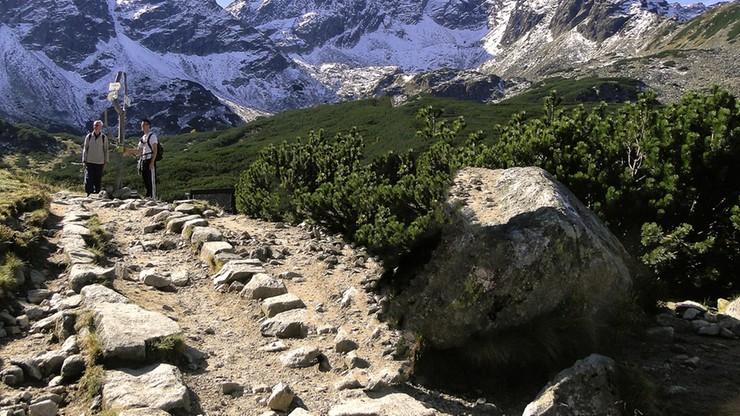 Tatry: od piątku zamknięte szlaki w rejonie Doliny Gąsienicowej. Może być niebezpiecznie