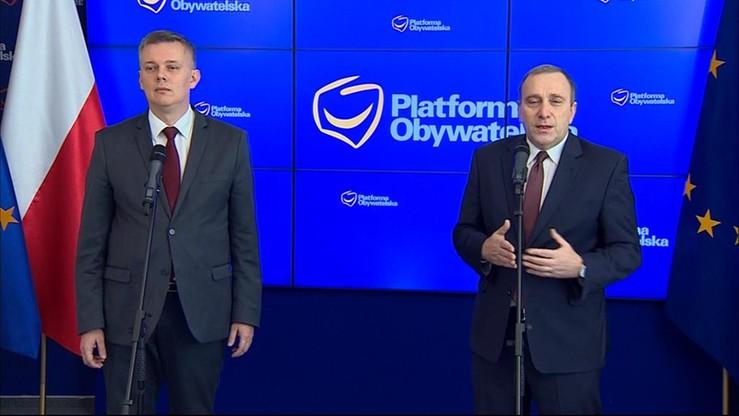 Siemoniak zrezygnował z walki o fotel szefa PO i poparł Schetynę