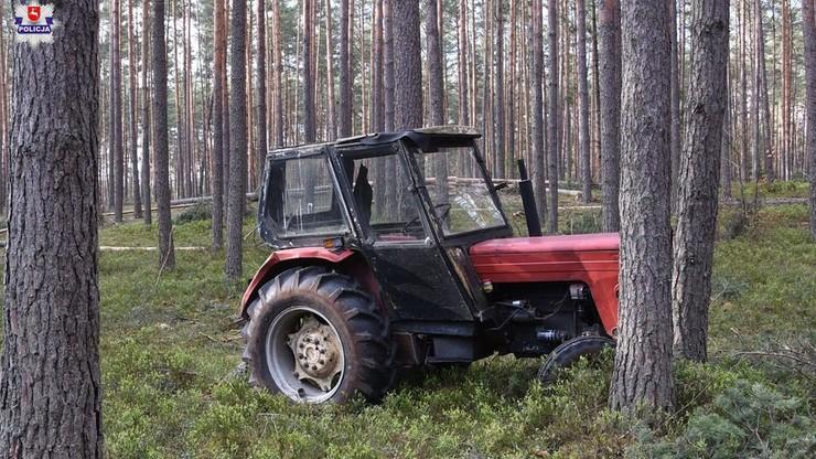 Wypadek podczas prac w lesie. Nie żyje 66-latek