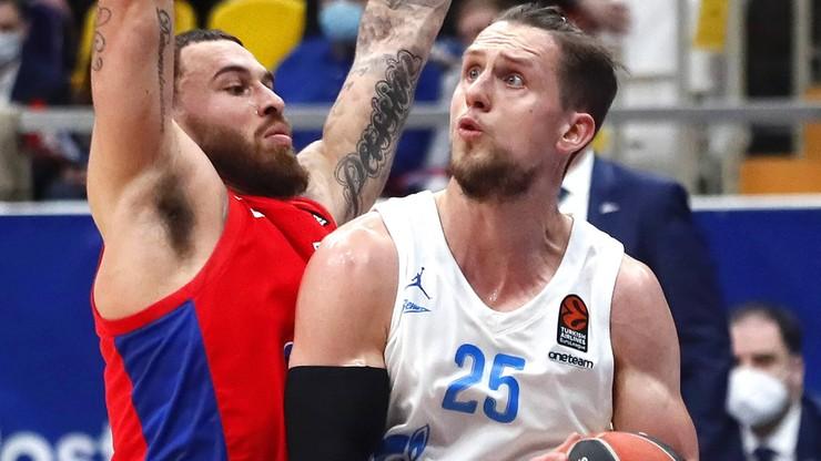 Euroliga: Mateusz Ponitka najlepszy w drużynie. Zenit jednak przegrał