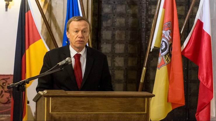 Ambasador Niemiec w Polsce: Piłka nożna to też polityka