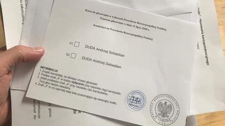 Tylko jeden kandydat na karcie wyborczej. MSZ komentuje zdjęcia krążące po sieci