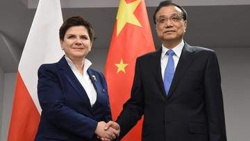 Premier Szydło spotkała się z premierami Chin, Łotwy i Serbii