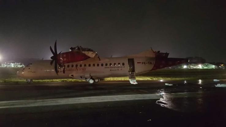 Zderzenie samolotów na lotnisku w Dżakarcie. Nie ma ofiar