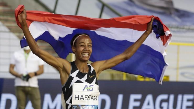 Diamentowa Liga: Hassan poprawiła rekord świata w biegu godzinnym