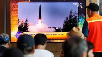 Korea Północna wystrzeliła kolejne pociski