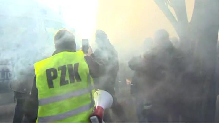 Nieoficjalnie: Tanajno zatrzymany w czasie protestu podczas obchodów smoleńskich
