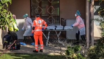 Koronawirus w Europie. Tragiczny bilans we Włoszech