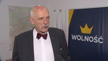 """""""Janusz Korwin-Mikke nie może być członkiem swojej partii, bo prawomocnie skazany łamie jej statut"""""""
