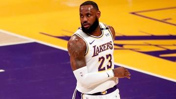 NBA: James złamał przepisy bezpieczeństwa, ale kary nie będzie