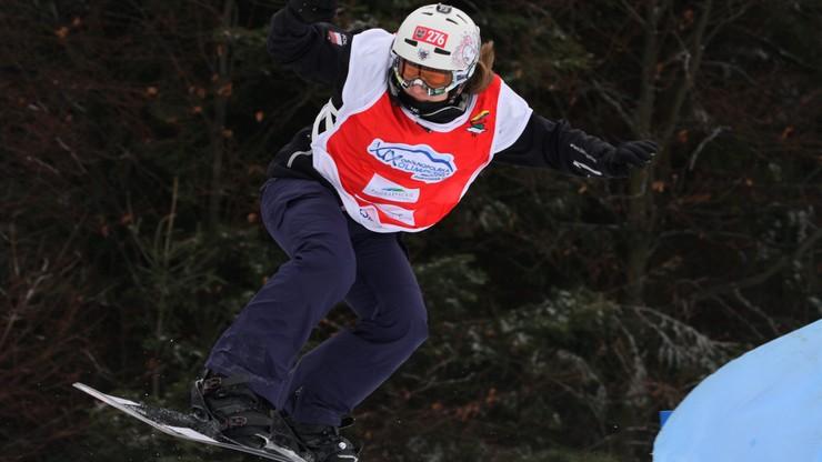 PŚ w snowboardzie: Smykała z punktami na inaugurację snowcrossu