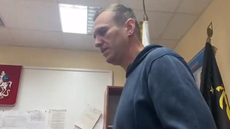 Służby więzienne podały informacje o stanie zdrowia Nawalnego