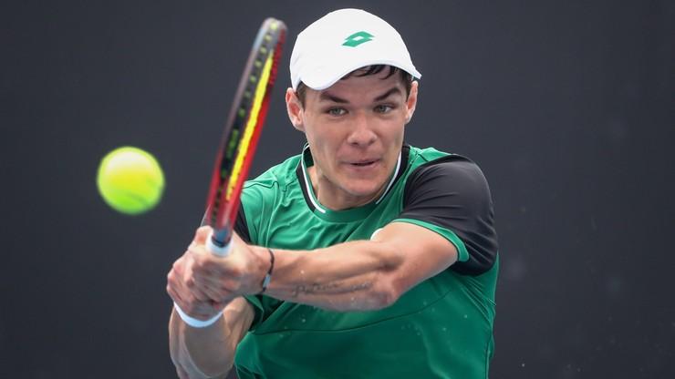 ATP w Rzymie: Kamil Majchrzak przebrnął kwalifikacje