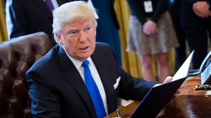 """Coraz bliżej muru na granicy USA i Meksyku. """"To wielki dzień dla bezpieczeństwa kraju"""" - Trump"""