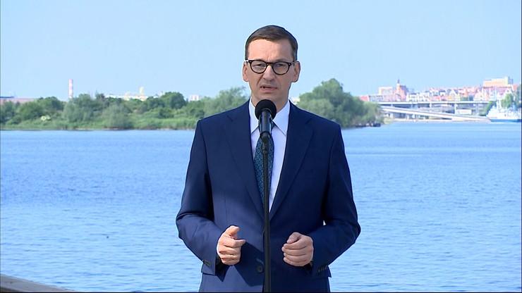Premier w Szczecinie: mamy odwagę realizować swoje interesy