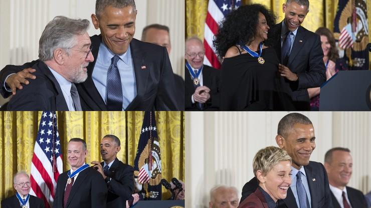 Obama po raz ostatni rozdał Medale Wolności