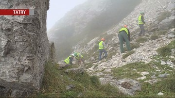 Zaczął się remont szlaku na szczyt Giewontu. Podczas tragicznej burzy od pioruna zginęły tam 4 osoby