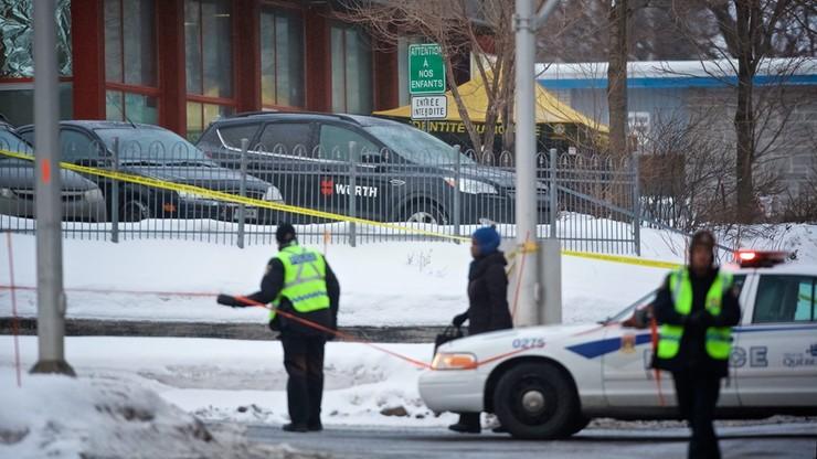 Jeden podejrzany o zamach na meczet w Quebecu
