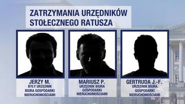 Afera reprywatyzacyjna: zarzuty dla jednej z trzech zatrzymanych w poniedziałek osób