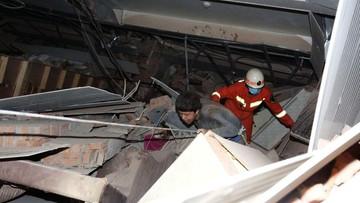 Co najmniej 10 ofiar pod gruzami chińskiego hotelu. Był miejscem kwarantanny