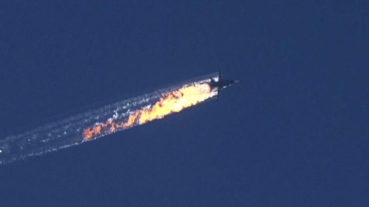 Tureckie siły powietrzne zestrzeliły rosyjski samolot Su-24