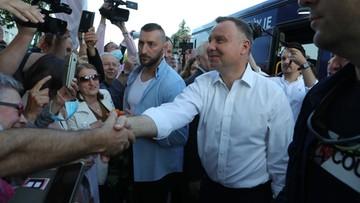 Prezydent: chciałbym, żeby pod koniec mojej drugiej kadencji Polak zarabiał 2 tys. euro