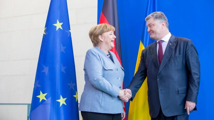 Merkel: Ukraina powinna pozostać państwem tranzytowym dla rosyjskiego gazu