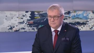 """""""Pytanie, co na to producenci izraelskiej broni"""". Czarnecki ws. słów szefa MSZ Izraela"""