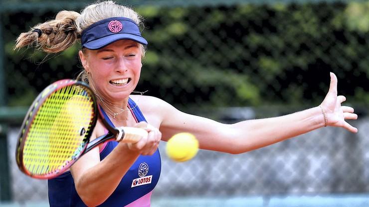 Magdalena Fręch rozbiła Zuzannę Szczepańską w tenisowych mistrzostwach Polski