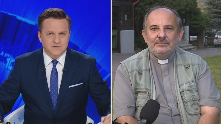 Ks. Isakowicz-Zaleski: trzeba rozdzielić sferę państwa i Kościoła